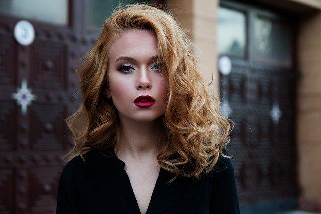 modelka w makijażu